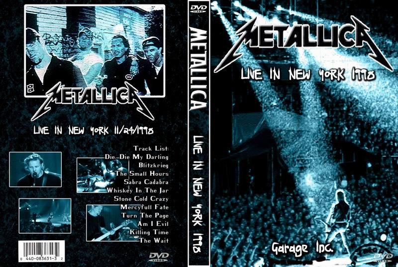 Metallica - 11.24.1998 - Roseland Ballroom, New York, NY, USA